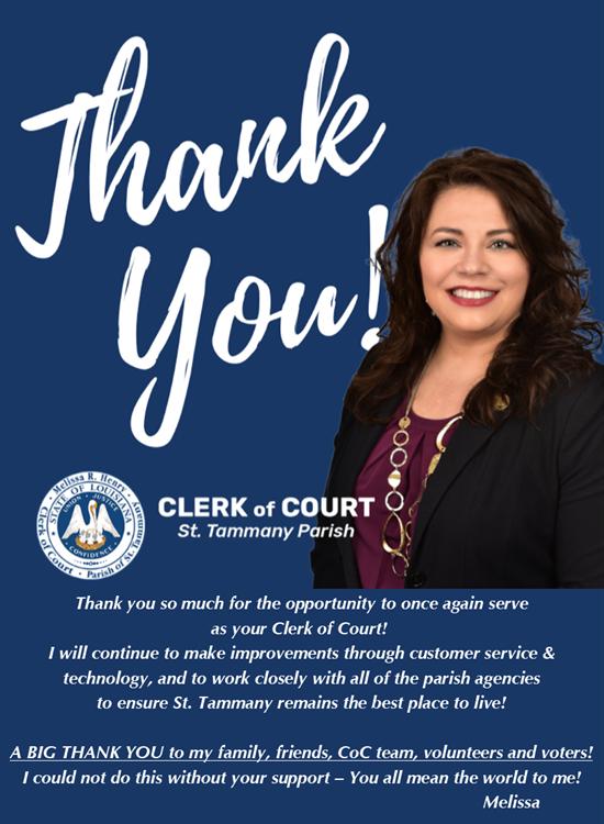 Melissa R  Henry - St  Tammany Parish Clerk of Court